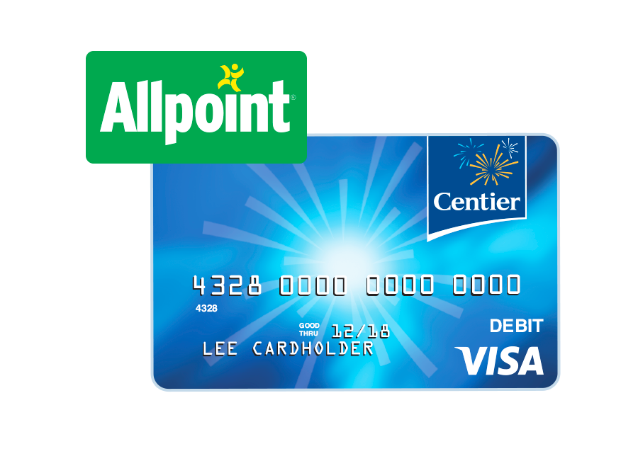 No ATM Fees for Centier Customers When You Use Allpoint