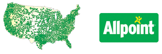 Allpoint Map and Logo