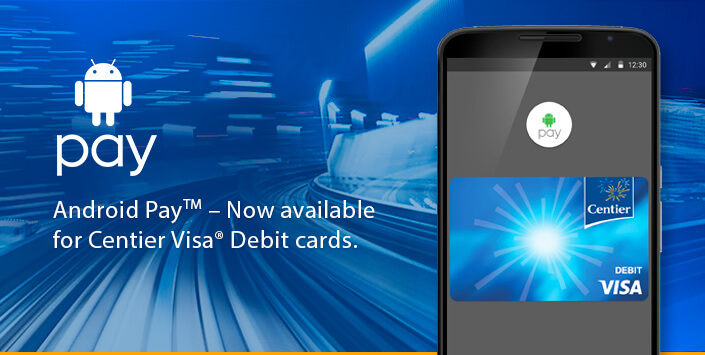 android pay - Visa Debit Card App
