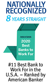 American Banker #11 Bank in USA 2020