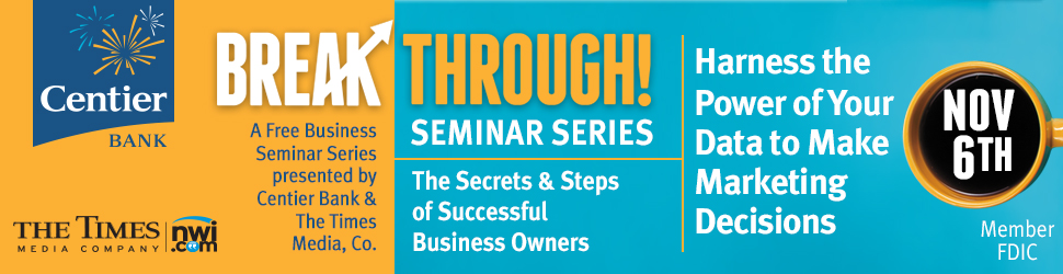 Centier Bank Break Through Free Business Seminar