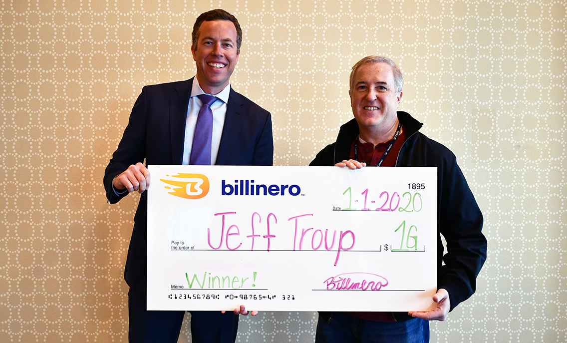Billinero Cash Prize Winner