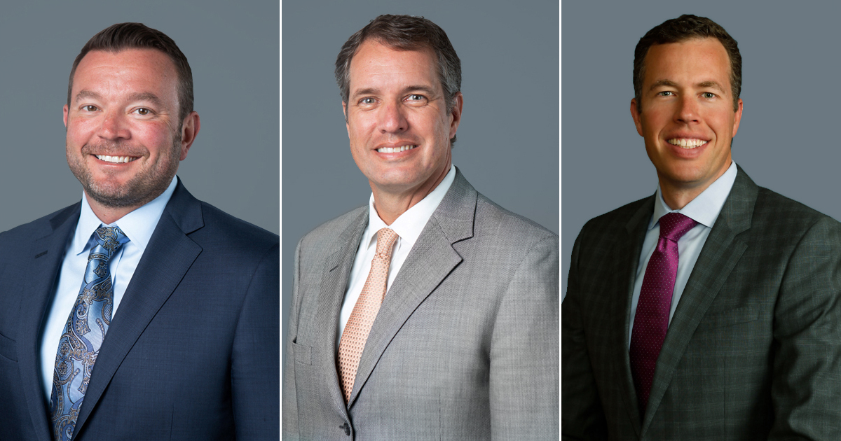 Centier Bank Board of Directors - Tim Leman, Rich Carlton, Chris Campbell