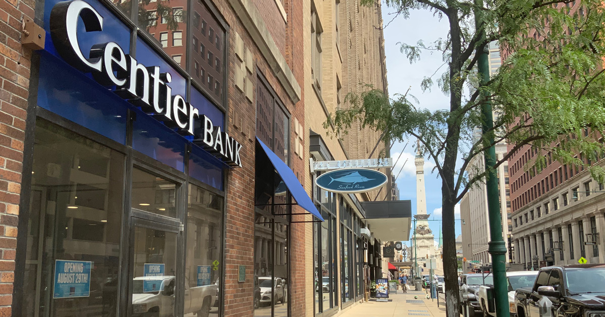 Centier Bank Downtown Indianapolis Relocation