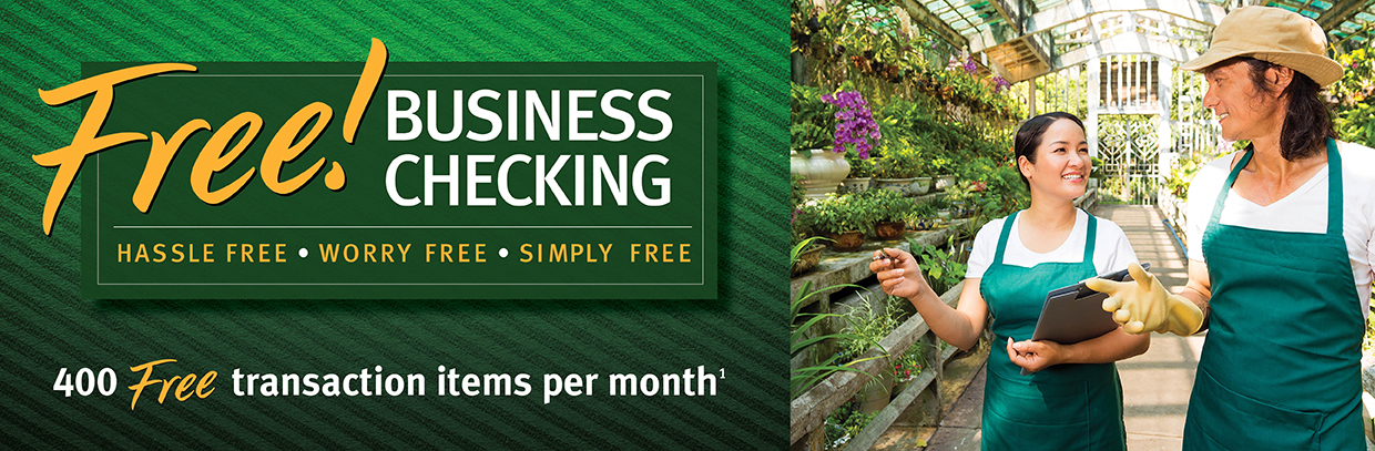 Centier Free Business Checking