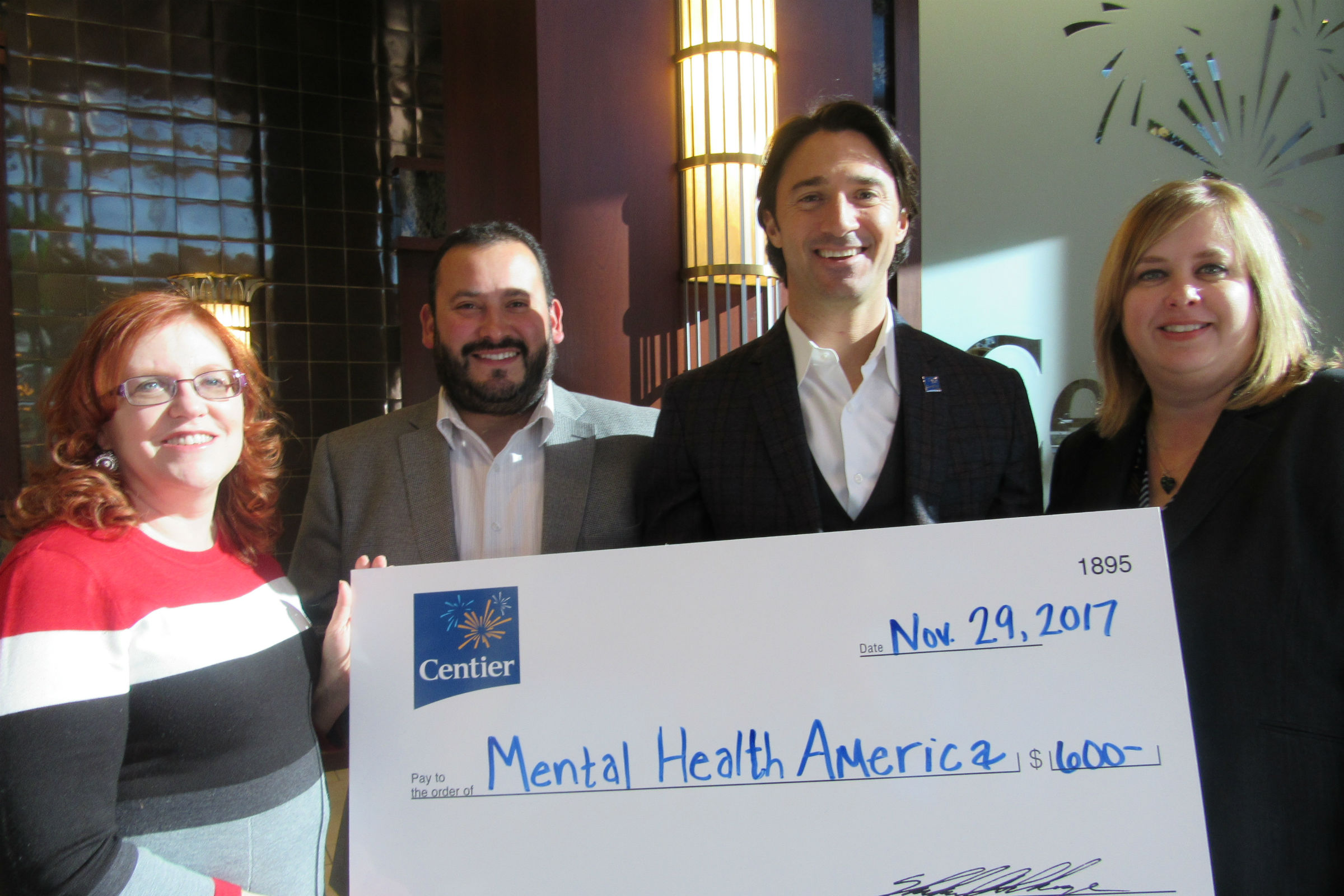 Centier Bank Associates Raise Funds for Mental Health America of Lake County